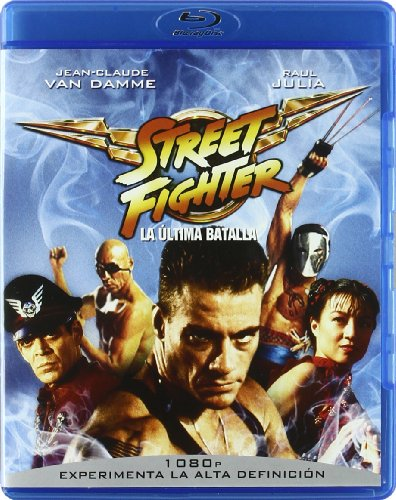 Street Fighter: Ultima batalla [BR] [Blu-ray]