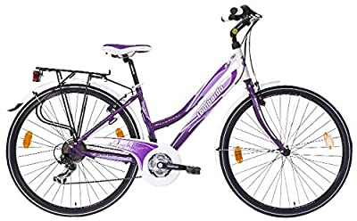 Lombardo Women's Miafiori 270 21-Speed Alloy Trekking Bicycle