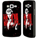 Official Billy Idol Don't Stop Designs Black Aluminium Bumper Slider Case for Samsung Galaxy Grand 2
