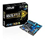 ASUS M5A78L-M PLUS USB 3 Graphics Card - Black (Socket AM3+/760G/DDR3/S-ATA 600/Micro ATX)