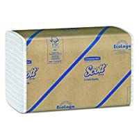 Scott C Fold Paper Towels (01510) with Fast-Drying Absorbency Pockets, 12 Packs / Case, 200 C Fold Towels / Pack