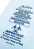 Azlon BWY252 Abfallbeutel aus Kunststoff, für Bio-Gefahrenabfälle, 433x632mm