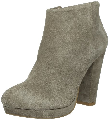 Buffalo 410-10645, Chaussures montantes femme Marron (Cow Suede Terra 01)