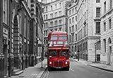 Papier Peint Photo Mural-LONDRES-(290p)-350x260cm-7lés-COLLE INCLUS!-XXL Poster Géant Decoratif Skyline City Paris Ville USA Royaume-Uni île Caraïbes Italie île Pierre Fleurs