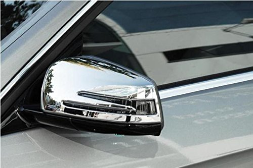 Preisvergleich Produktbild Mercedes C218 W218 CLS Chrome wing mirror covers Set