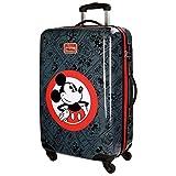 Disney Hello Mickey Equipaje Infantil, 68 cm, 62 litros, Negro