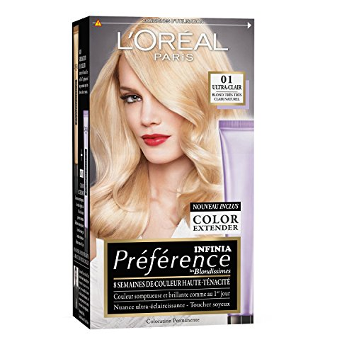 loral paris prfrence coloration permanente 01 blond trs trs clair naturel - Coloration Blond Clair Beige