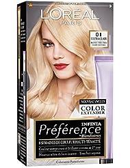 L'Oréal Paris Préférence Coloration Permanente 01 Blond Très Très Clair Naturel