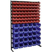 Stapelboxen Wandregal Box Sichtlagerkästen Schüttenregal Lagersystem 42 Big Boxe
