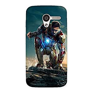 Impressive Ready to Sky Back Case Cover for Moto X