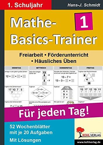 Mathe-Basics-Trainer 1. Schuljahr (Basic Trainer)