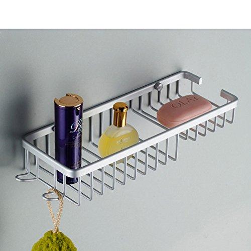 Aluminium einzigen Rack Space/[Solide Korbzahnstange]/Bad rechteckige Handschuh Blues/mit Doppel-Haken-Rack solide Wire Frame-A - Wire Frame Rack