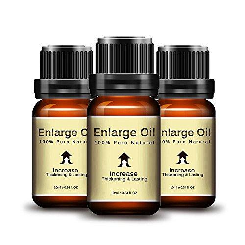 URSING Sex Erweiterung Ätherisches Öl Größere längere Verzögerung Langlebige Sex Produkte Potenzmittel für Männer Erotik Massage Öl Libido Herren Erwachsenes Spielzeug (Braun)
