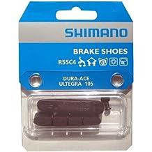 Shimano BR-9000 R55C4 Zapatas Sueltas, Multicolor, Única