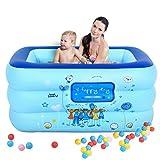 Vasche da bagno Piedini Neonati e Bambini Piscina Gonfiabile Famiglia Vasca da Bagno Piscina Giocattolo Laghetto da Pesca
