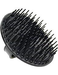 Denman Shampoo- und Teppichbürste D6, aus hochwertigem Kunststoff, schwarz