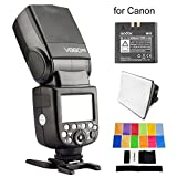 Best Selling EACHSHOT V860C II V860II-C E-TTL HSS 2.4G Build-In Transceiver Li-ion Battery Flash for Canon With Cleaning Cloth be sure to Order Now