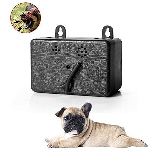 NINGXUE Ultraschall-Hundetrainingsgerät, 4 einstellbare horizontale Rindenstopper, Innen- und Außenhundeschutzvorrichtung - geeignet für kleine, mittlere und große Hunde - Blast Bekleidung