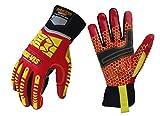 Seibertron HIGH-VIS HRC5 Rigger Silikon Grip Cut 5 Impact Viz Heavy Duty Handschuhe Abrieb Öl & Gas Bohren Sicherheit Schlagschutz Handschuhe CE EN388 3541 M