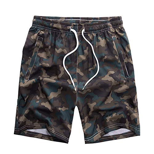 Huatime Hombre Bañadores Pantalones Cortos - Camuflaje