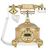 Petrichore Jade antiken kontinentalen retro Telefon antikes Telefon High-End-home Festnetzanschluss