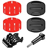 Neewer 6-in-1 Kit di Accessori per Fotocamera d'Azione Gopro Hero Session/5 Hero 1 2 3 3+ 4 5 6 SJ4000 5000 6000 DBPOWER AKASO VicTsing APEMAN WiMiUS Rollei QUMOX Lightdow Campark Sony Sports DV e Così Via