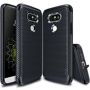 LG G5 Case, Ringke [ONYX] [Resilient Strength] Flexible Durability, Durable Anti-Slip, TPU Defensive Case for LG G5 2016 - Midnight Navy