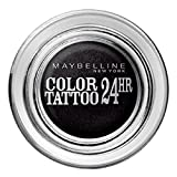 Gemey Maybelline–Ombretto Crema Color Tattoo 24H di Maybelline N ° 60Timeless Black