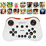 MYLL mocute 056 VR Game Pad Wireless Bluetooth Controller Joystick Fernbedienung Gamepad für Telefon VR PC TV weiß weiß Standard
