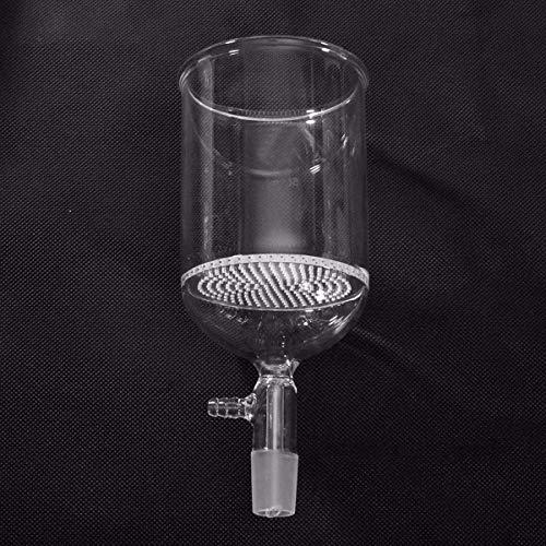 HU ZHANG Labor 500 ml 24/40 Porenplatte Klare Filtertrichter Laborglaswaren Glas Büchnertrichter 90 mm