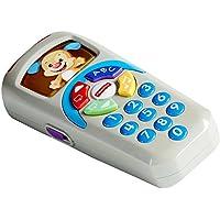 Fisher-Price la Télécommande de Puppy Jouet Bébé pour Apprendre les Nombres, les Couleurs et les Premiers Mots, 6 Mois et Plus, DLD31