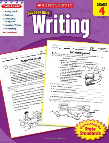 scholastic-success-with-writing-grade-4