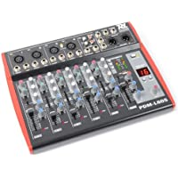 Power Dynamics PDM--L605 Mesa de mezclas 6 canales USB AUX