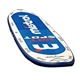 Mistral Stand up Paddle Surf Big Competition Sup Aufblasbare Boards, Weiß, M