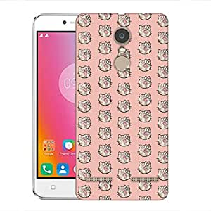 Snoogg Cute kitty formation Designer Protective Back Case Cover For Lenovo K6 Power