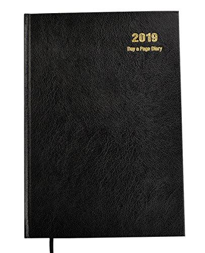 Arpan, Tagebuch für 2018, A4, 1 Tag pro Seite A4 Black - 2019 - Bild 1