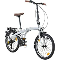 Viking Park Lane Camping Vélo pliable 6vitesses Shimano lumière éclairage vélo pliant
