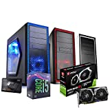 Pc desktop gaming completo Intel i5 9400F 4.10ghz in Turbo / Msi Gtx 1660 Ti 6Gb Gaming Ddr6/ Ram Ddr4 16gb/ Ssd M.2 250gb + Hdd 1tb / Wifi - Windows 10/ Computer da gaming assemblato/Pc gaming i5