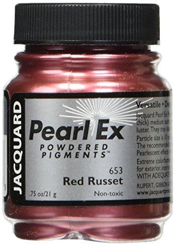Jacquard Pearl EX gepudert Pigment, rot rostbraun, 0,75oz