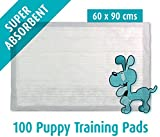 100 Puppy Training Pads 60x90 cm (X-Large) Mats