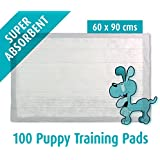 100 Puppy Training Pads 60x90 cm (X-Large) Mats