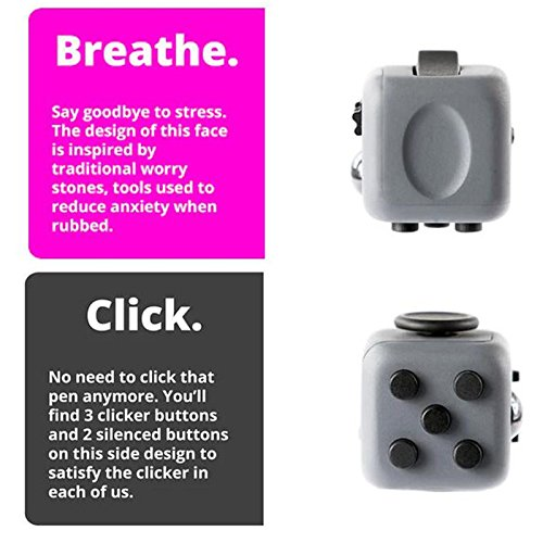 Fidget Cube Relieves Stress And Anxiety for Children and Adults (2 JYZS) - 3