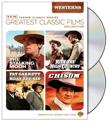 TCM Greatest Classic Film Collection: Westerns (The Stalking Moon / Ride the High Country / Pat Garrett and Billy the Kid / Chisum) by Gregory Peck