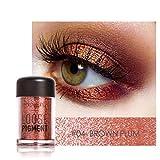 HARRYSTORE Perle Metallisch Lidschatten Palette Auge Schatten Bilden (#4)
