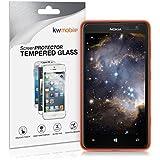 kwmobile Pellicola Protettiva in Vetro Temperato trasparente per Nokia Lumia 625 (più piccolo di questo display, poichè questo è ricurvo)