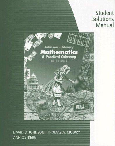 SSM Math A Prac Odyssey 6e