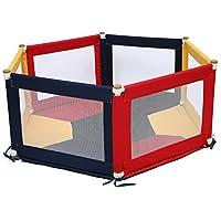 TikkTokk Pokano Fabric Playpen/Mat (Hexagonal, Colourful)