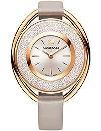 Swarovski Crystalline Oval Rose Gold Tone Watch