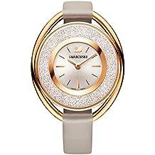 Swarovski Crystalline Oval Rose Gold Tone Reloj