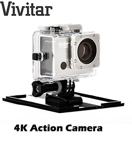 Camescope d'action 4K Vivitar DVR914 avec fonction Wi-Fi, objectif grand